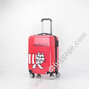 Wholesale hand trolley: Custom 3 PCS Hand Carry-on Fashion Trolley Suitcase Luggage Sets Travel Bags