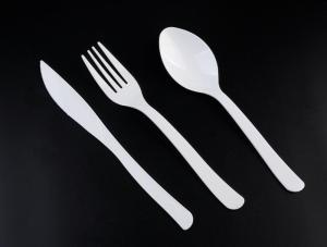 Wholesale Tableware: PLA Disposable Knife Fork Spoon