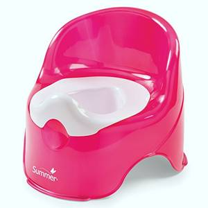 Wholesale Other Baby Supplies & Products: Summer Infant Lil' Loo Potty, Raspberry and White