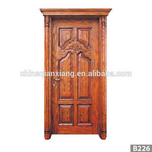 Wholesale wholesale fashion: Wholesale Fashionable Design MDF Door, Newest Wooden Interior Veneer Door