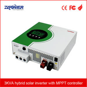 Wholesale solar: 3-5KVA Hybrid Solar Inverter with MPPT Charger Controller