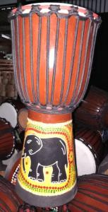 Wholesale sheepskin products: Africa Djembe Drums