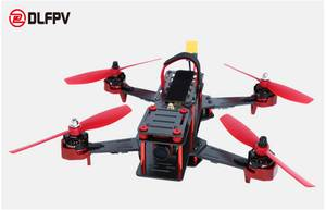Wholesale brushless esc: 4Axis Carbon Fiber FPV Racing Drone Quadcopter ARF Version