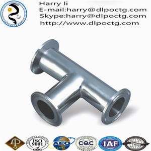 Wholesale tee: Classification of Oil Casing Material Flared Tube Fittings Tee