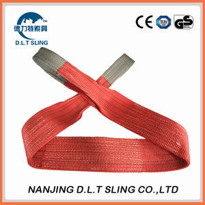 Wholesale webbing sling: 1 Ton Polyester Webbing Sling China Factory