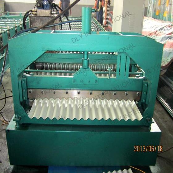 Corrugated Roofing Shape Machine Sheet Making Machine