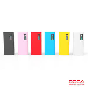 Wholesale Mobile Phone Chargers: DOCA D566A 13000mAh Universal Power Bank