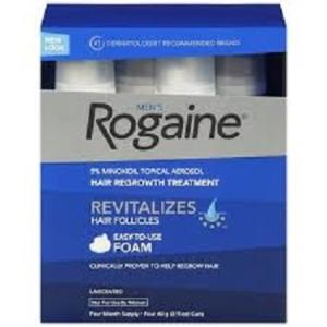 Wholesale Other Hair Removal Product: Brand New Rogaine Topical Hair Regrowth Foam 5% Minoxidill Extra Strength Men's 3 Month
