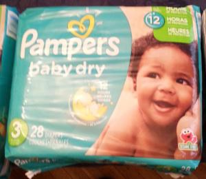 Wholesale nappies: Pampers Size 1 New Baby Jumbo Box Nappies Pack of 72 Nappies