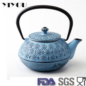 Wholesale Metal Kettles: Quality Guaranteed Antique Cast Iron Teapot with Infuser