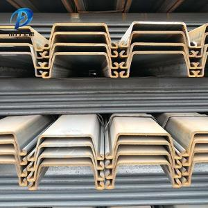Wholesale sheet pile: China Manufacture Q345B Hot Rolled U Type Steel Sheet Pile