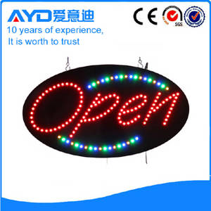 Wholesale led sign letter: Hot Sale Cheap Price Letter Open LED Sign LED Open Sign Board