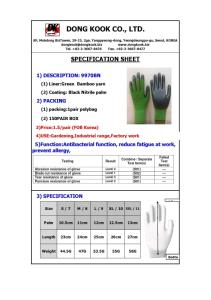 Wholesale Bamboo Products: Bamboo Gardening Glove