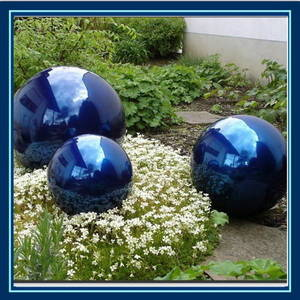 Wholesale high clearance sprayer: Stainless Steel Hollow Colourful Ball for Outdoor Ornament