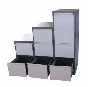 Wholesale file cabinet: Metal Steel 4 Drawer Filing Cabinet