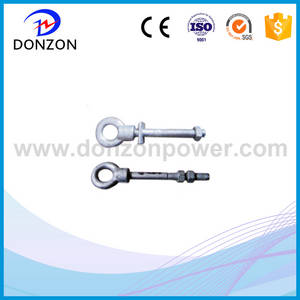 Wholesale radio communication: China Manufacturer Pole Line Hardware Hot Dip Galvanized Eye Bolt