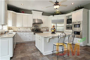 Wholesale kitchen cabinet design: Hardwood Wooden Kitchen Cabinets Design