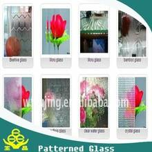 Wholesale bamboo shade: Patterned Glass for Room Partition