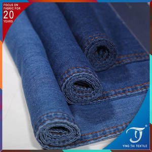 Wholesale Denim Fabric: 100% Cotton Denim Fabric 4oz Thick Jean Fabric for Shirts