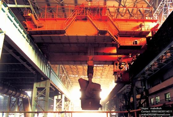 Sell metallurgical casting foundry crane