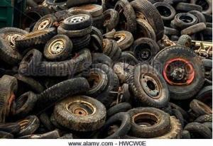 Wholesale Recycled Rubber: Baled Tires