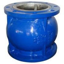 Wholesale water treatment pump: PN16 Cast Iron Flange Type Silent Check Valve for Pump and Water Treatment