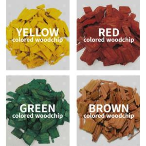 Wholesale Timber: Color Wood Chip