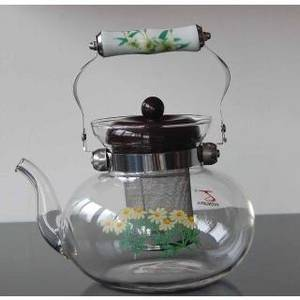 Wholesale coffee pot: Heat Resisitant Tea&Coffee Pot 13013-TB