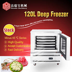 Wholesale mini deep freezer: Hotsale Deep Freezer DRB-120L