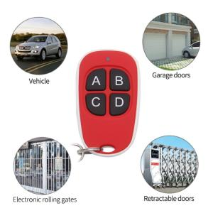 Wholesale key clone: Wireless Remote Control Garage Gate Door Opener Clone Cloning Code Car Key Road Gate 433MHZ