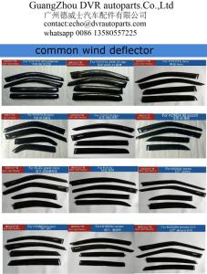 Wholesale car accessory: Automotive Wind Deflector Car Exterior Accessories