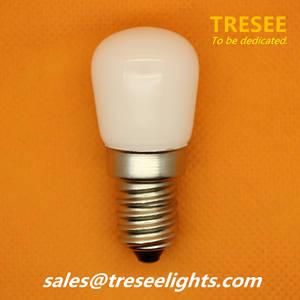 Wholesale led light bulbs for: E14 Socket LED Fridge Light Bulb Lamp 1.5W 6500K for Refrigerator COB Chip