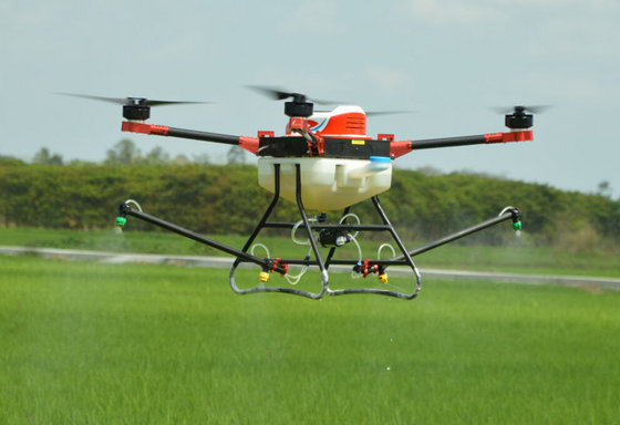 Pesticide Spraying Drone Agricultural Unmanned Multi-Rotor Sprayers