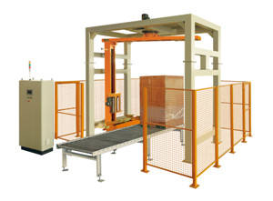 Wholesale wrapper automatic: EAR400PPS-ATR Fully Automatic Online Pallet Wrapper