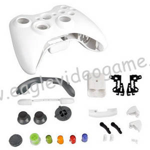 Wholesale Joysticks & Game Controllers: Rreplacement Controller XBOX360 Housing Cover Case
