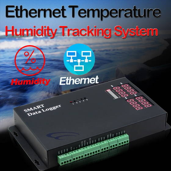 Sell Ethernet Temperature Humidity Tracking System
