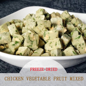 Wholesale freeze-dried: Freeze Freeze-dried Chicken Vegetables Fruit Cube Pet Snacks Producers