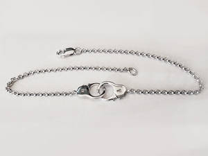 Wholesale handcuffs: Handcuff Chain Bracelet