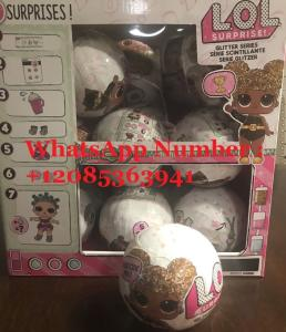 Wholesale Dolls: LOL Surprise Doll GLAM GLITTER Series L.O.L Big Sisters Toys 7 Surprise One Ball