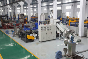 Wholesale compactor: PE PP PS Double Stages Compactor Pelletizing Recycling Machine