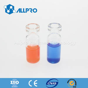 Wholesale clear glass vial: 11mm Clear Crimp Top Autosampler Vial