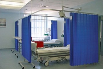 medical clinic s antibacterial willow lab wx antimicrobial hospital curtain nutmeg p curtains