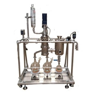 Short Path Molecular Distillation Machine System for Separation