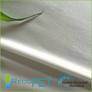 Wholesale Other Apparel Fabric: RPET Tear Resistant Crepe Satin Chiffon Fabric