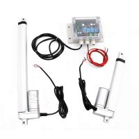 Dual Axis Solar Tracking System with 12V Linear Actuator & Track Controller