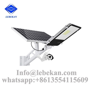 Sell led security solar street light with outdoor cctv camera