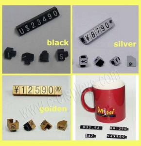 Wholesale body jewelry: Mini Price Cubes,Jewelry Display Jewelry Price Tag