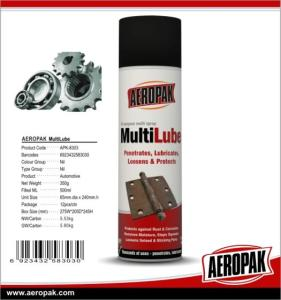 Wholesale education consulting: AEROPAK High Quality All Purpose MultiLube&Anti Rust Lubricant for Car Cleaning
