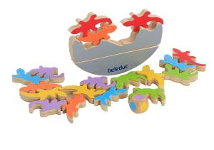 Wholesale balance: EL Gecko Wooden Toys Balance Game