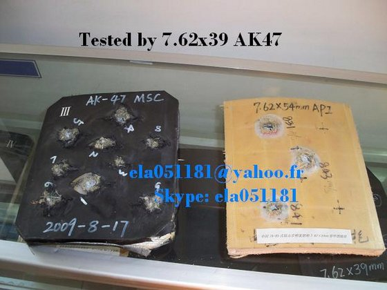 Ceramic/Kevlar Bullet Proof Plate - Against AK47 image & Ceramic/Kevlar Bullet Proof Plate - Against AK47(id:3975768) Product ...